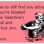 Updated humour about Valentines Day on HTWB