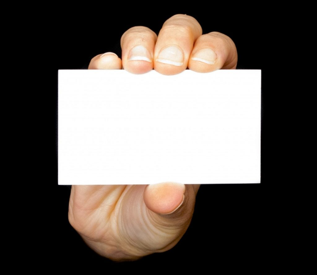 8 mistakes in writing business cards