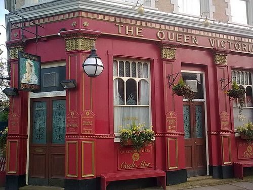 The most famous Cockney pub in the world!