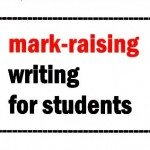 Writing for students: bouncing back from a bad grade