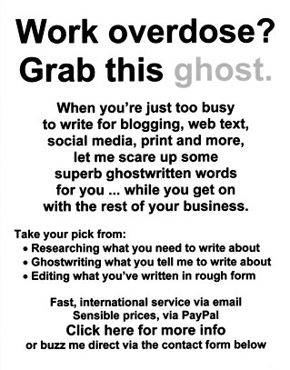 Online ghostwriting, researching and editing to save your time and add value to your business