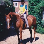 Writing about horses: these boots were made for, er, paddling
