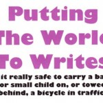 Baby bike passengers: a cycle of disaster?