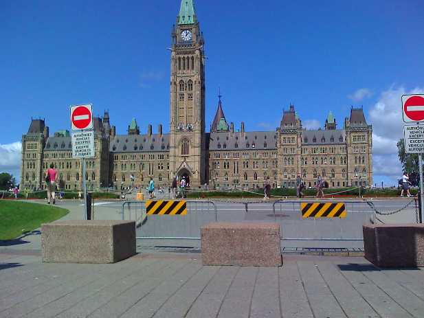 Ottawa shootings: a few words that express disgust