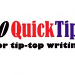 Beating writer's block – 10 Quick Tips