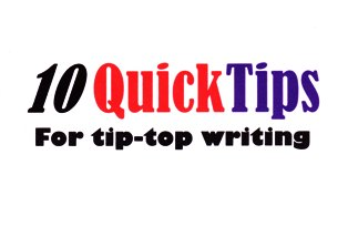 Beating writer's block - 10 Quick Tips