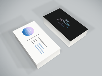 Business cards - get real and get yours right