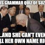 Grammar quiz again – fun with this ridiculous language, answers