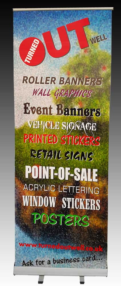 How to create a rolller banner that works hard for your business