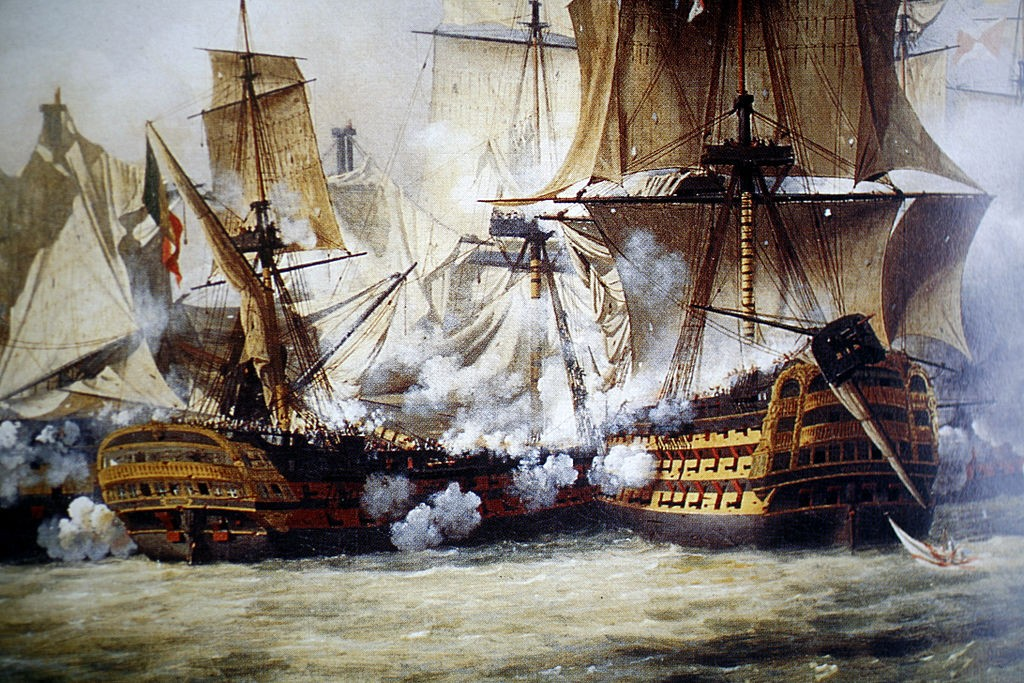 Health and safety rules for the Battle of Trafalgar