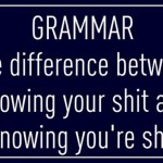 Laughing WITH – not AT – National Grammar Day, USA