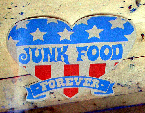 Why you should think twice about eating junk food...