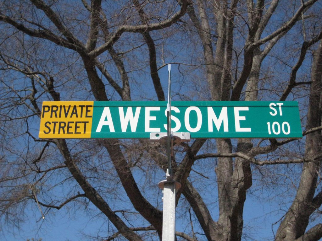 why awesome isn't awesome