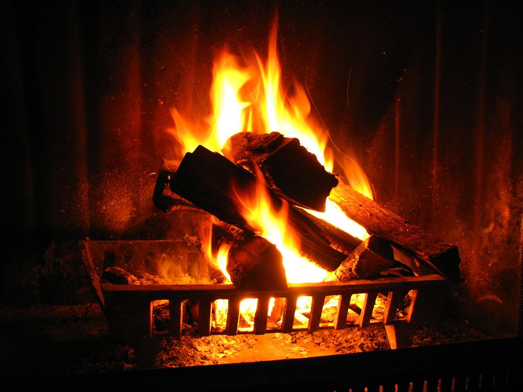 humorous poem about open fires