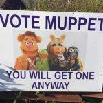 An election song to sing to doorstep canvassers…