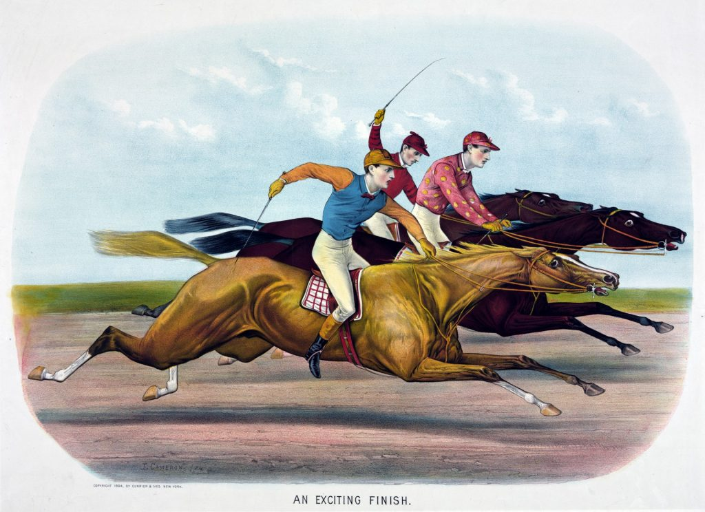 Funny stories about horse racing