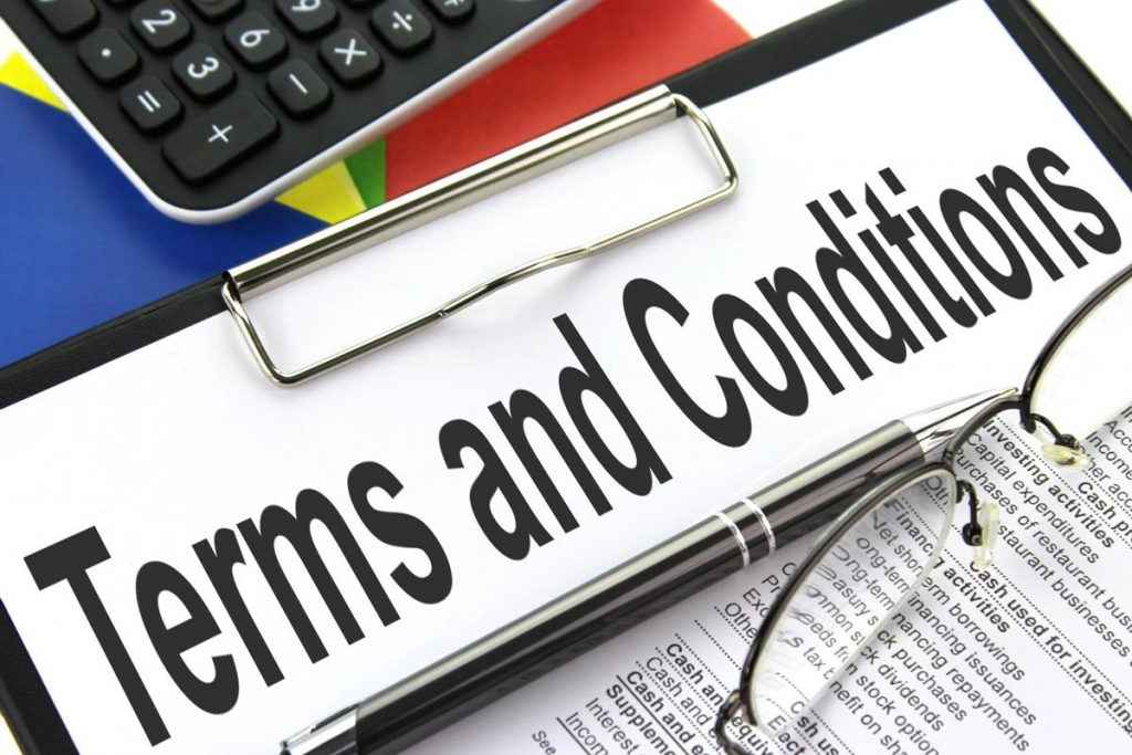 How to write better Terms and conditions HTWB