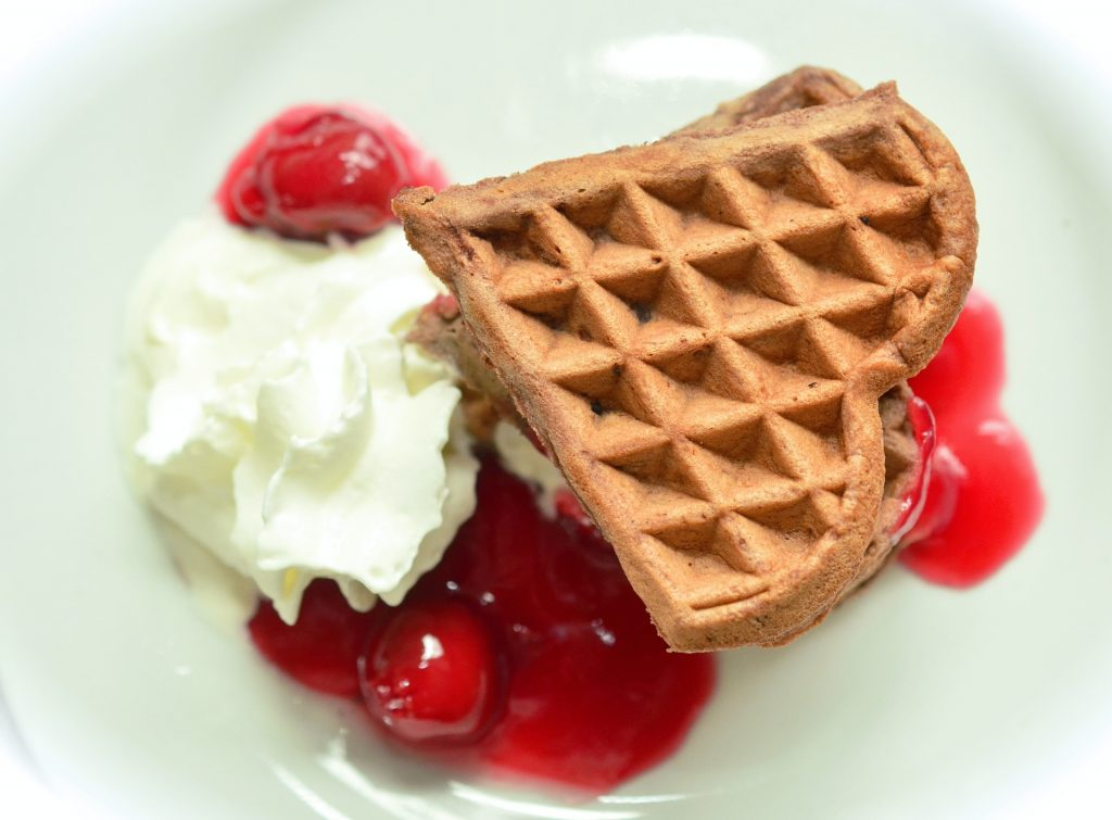 Waffle is for eating, not for writing