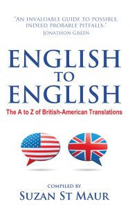 Book of English words in Britain and America