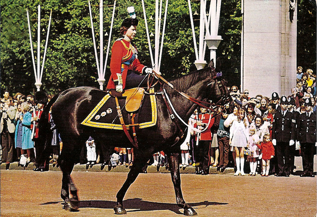 Article about the Queen's horse