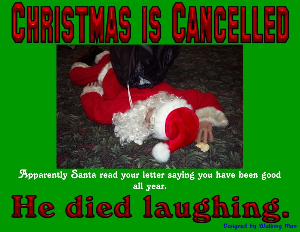 Funny jokes about letters to Santa and his hilarious replies