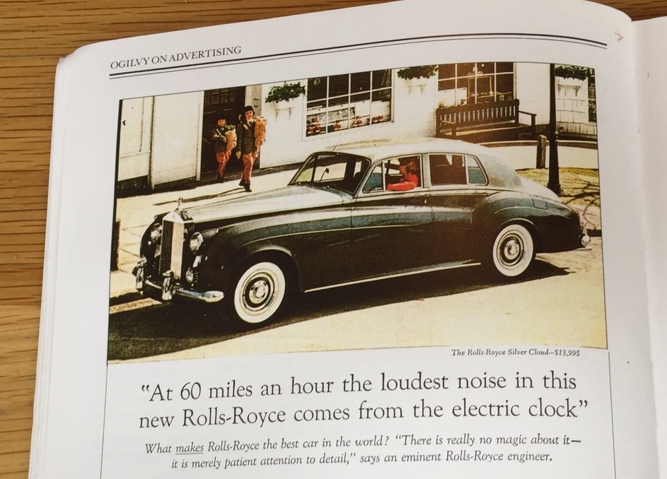 Rolls Royce advert