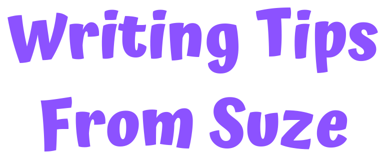 writing tips from Suzan St Maur