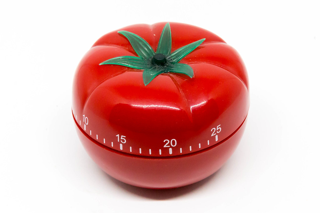 Pomodoro for writers